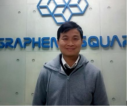 Leaving Samsung SDI to achieve the dream of commercialization of Graphene.